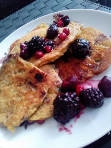 WIAW : salads and pancakes!