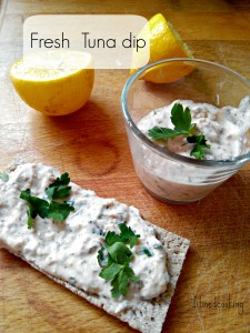 Fresh tuna dip | What to do with yogurt