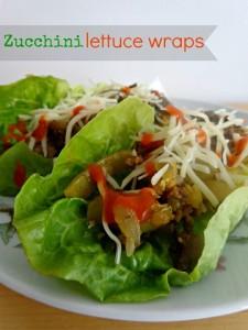 WIAW – lettuce wraps